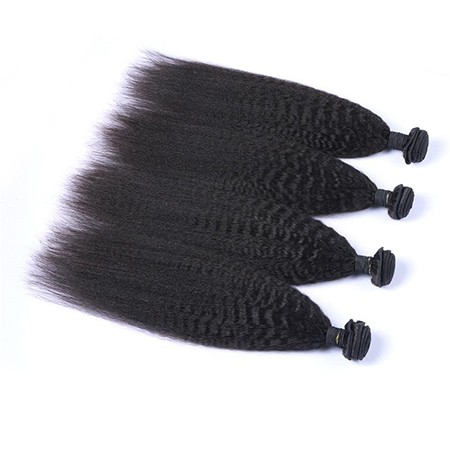 Kinky straight Virgin Human Hair Bundles