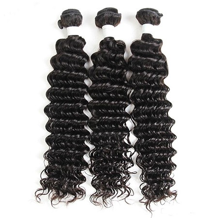 Deep Wave Virgin Human Hair Bundles
