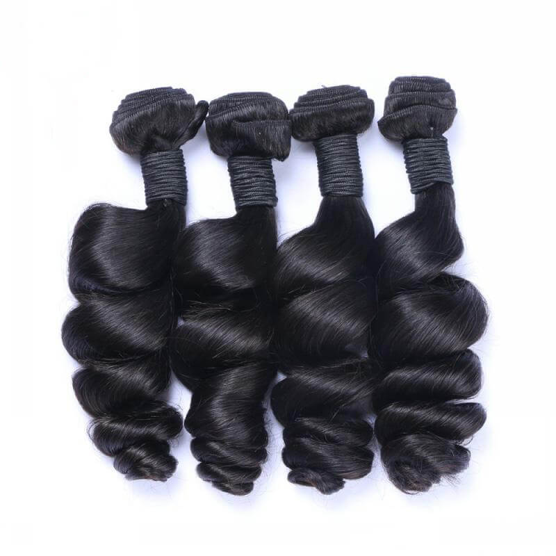 Loose wave Virgin Human Hair Bundles