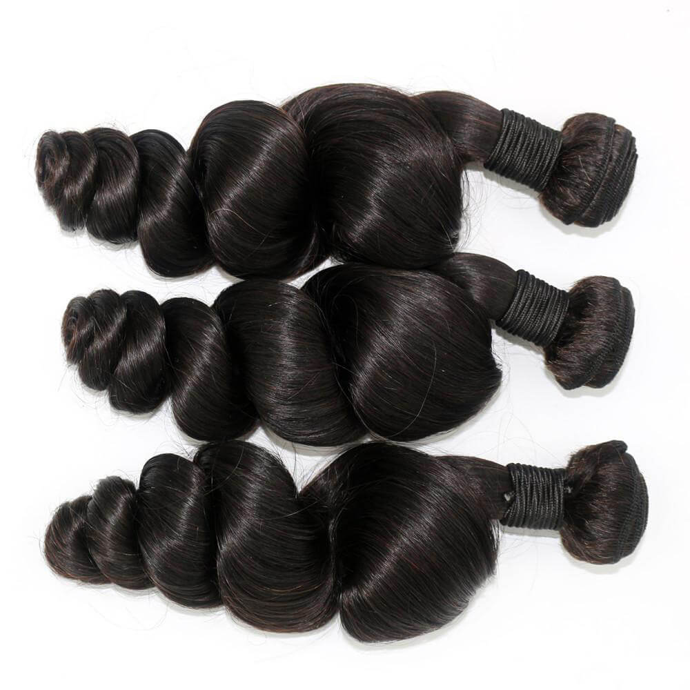 Loose wave Virgin Human Hair Bundles02