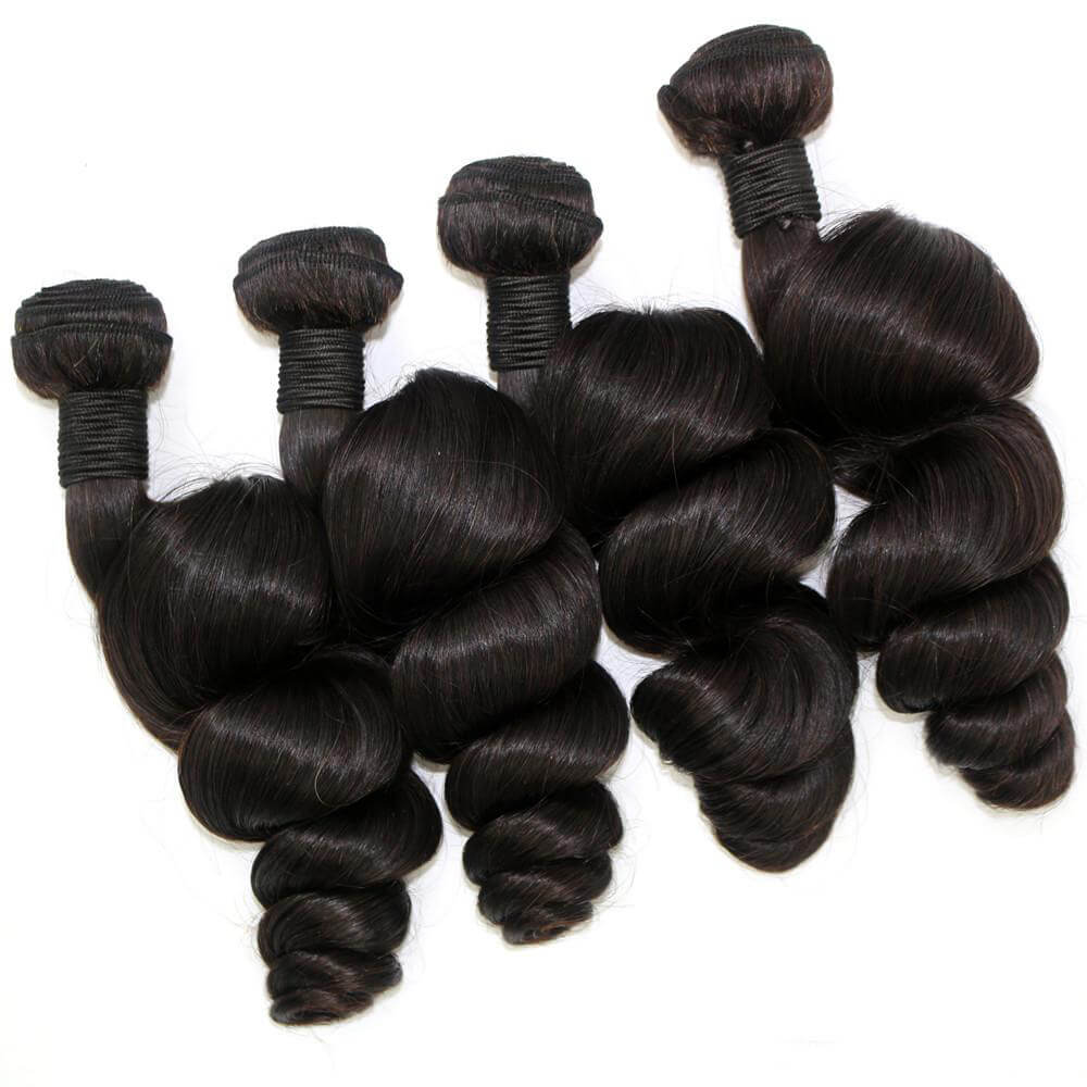 Loose wave Virgin Human Hair Bundles03