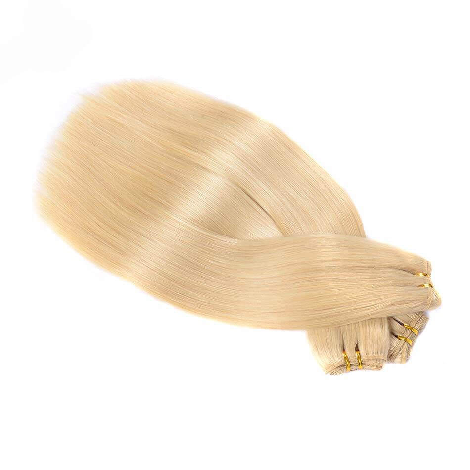 Color #613 Straight Human Hair Bundles02