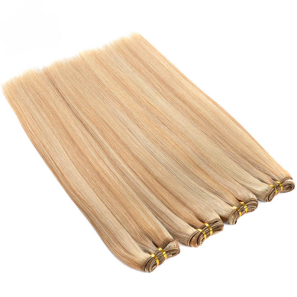 Color P27 613 Straight Human Hair Bundles01