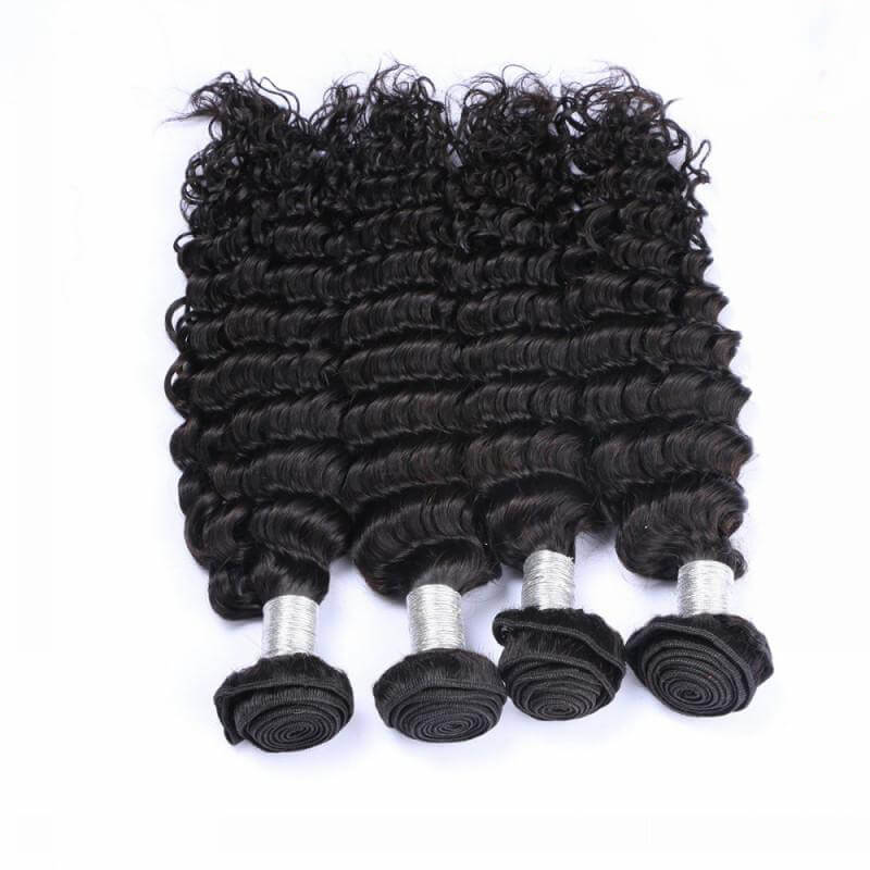 Deep wave Virgin Human Hair Bundles03