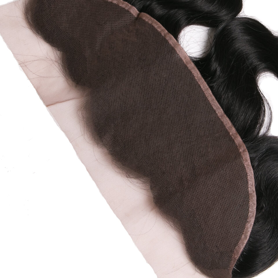 Virgin human hair body wave lace frontal03